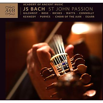 Bach, J.S./Aam/Choir de l'Aam/Egarr - importation des USA de la Passion selon Saint Jean [CD]