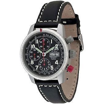 Zeno-watch mens orologio di classic Chrono de luxe limited edition 6559TVDD-a1