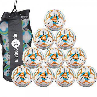 10x erima jeune balle Senzor Allround 290 incl. ball bag