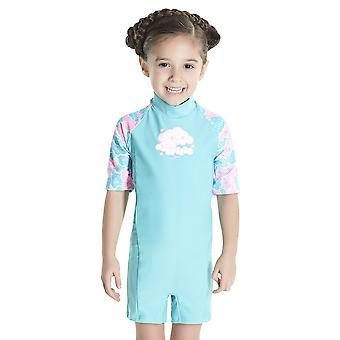 Speedo Cosmic Cloud Essential All In One Suit Swimwear For Girls