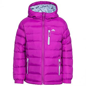 Trespass Girls Aksel Padded Quilted Hooded Casual Coat