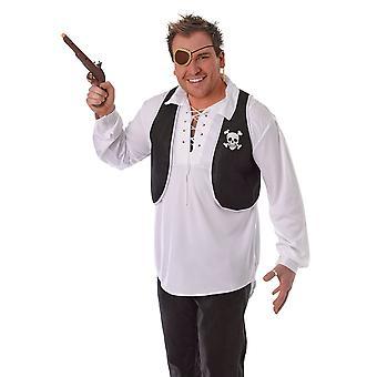 Bristol Novelty Unisex Pirate Costume Waistcoat