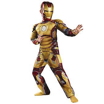 Iron Man 3 Muscle Mark 42 Marvel Avengers Superhero Boys Costume