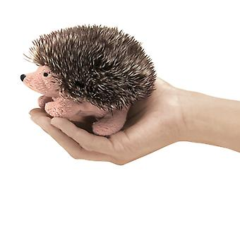 Finger Puppet - Folkmanis - Mini Hedgehog New Animals Soft Doll Plush Toys 2668