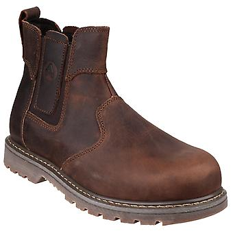 Amblers Safety Mens FS165 Pull-On Safety Dealer Brown