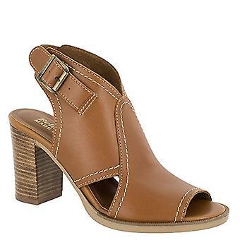 Bella Vita Womens whiskey lea Leather Open Toe Casual Slingback Sandals