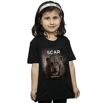 Disney Girls The Lion King Movie Scar Poster T-Shirt