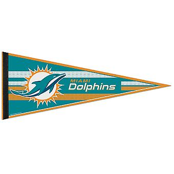 Wincraft NFL Felt Pennant 75x30cm - Miami Dolphins