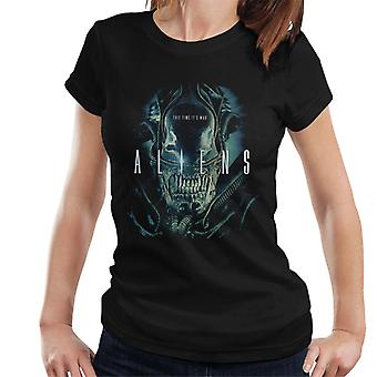 Aliens This Time Its War Women's T-Shirt