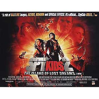 Spy Kids II (tavallinen) (kaksipuolinen) alkuperäinen elokuva julisteet