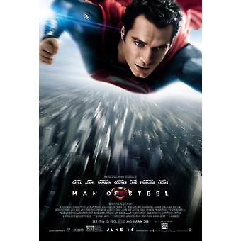 Man Of Steel Poster Double Sided Regular (2013) Original Cinema Poster