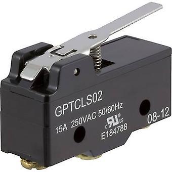 ZF Microswitch GPTCLS02 250 V AC 15 A 1 x On/(On) momentary 1 pc(s)