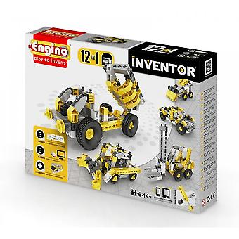 Engino Inventor 12 In 1 INDUSTRIAL Models - Construction Kit