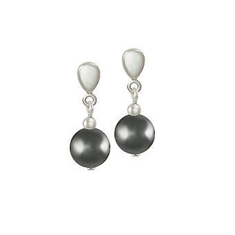 Ewige Sammlung Twilight Hämatit Silberfarbe Drop Clip auf Ohrringe