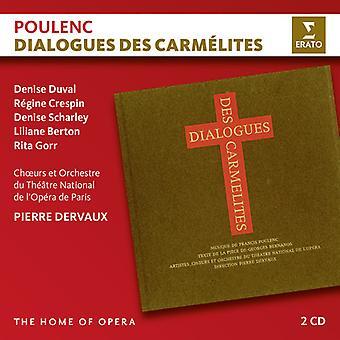 Poulenc / Dervaux / Duval / Crespin / Scharley - Dialogues Des Carmelites [CD] USA import