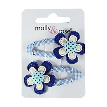 Molly & Gingham Rose capelli Sleepies luce blu