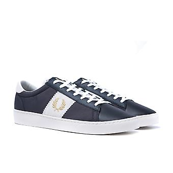 Fred Perry Spencer semsket panel Navy trenere