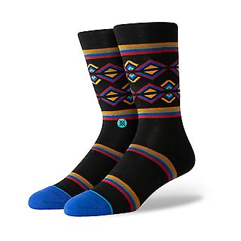 Stance Harvey Crew Socks in Black