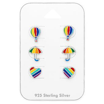 Rainbow - 925 Sterling Silver Sets - W38722x