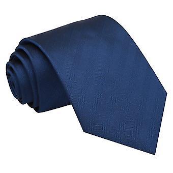 Midnight Blue kalanruoto silkki klassinen Tie