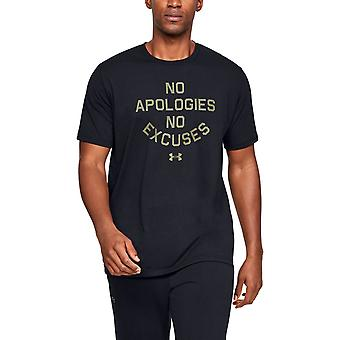 Under Armour Mens No Apologies Soft Ribbed Collar T-Shirt