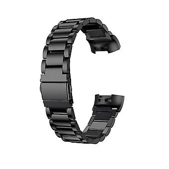 Bracelet compatible with Fitbit Ionic-Black