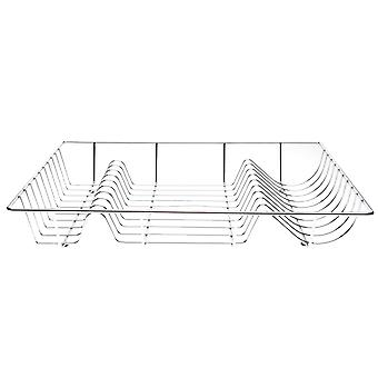 Boutique Kitchen Unisex Chrome Dish Rack