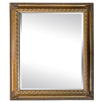 مرآة في الذهب، والأبعاد الخارجية 53x63 سم