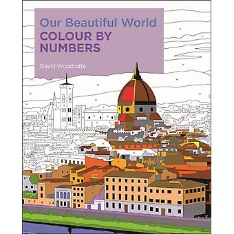 Our Beautiful World Colour by Numbers by David Woodroffe