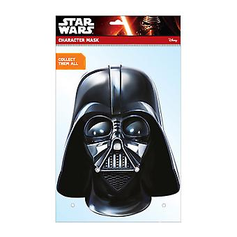 Darth Vader Oficial Star Wars Card Party Fancy Dress Mask
