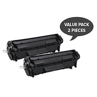 Q2612A 12A Cart-303 Premium Generic Toner (Set of 2)