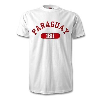 باراغواي الاستقلال 1811 تي شيرت