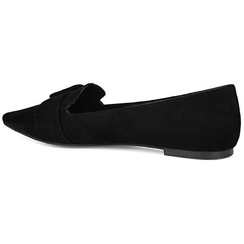 JC JOURNEE COLLECTION Womens Audrey Pointed Toe Ballet Flats 889IL