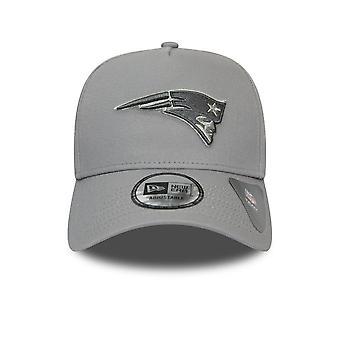 New Era Nfl  New England Patriots Grey A-frame 9forty Cap