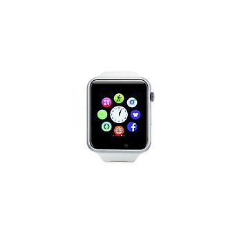 Stuff certificeret® originale a1/W8 SmartWatch Watch OLED smartphone Android iOS hvid