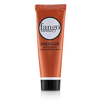 Fango Essenziali Energize Mud Mask With Coffee Seed, Activated Charcoal & Caffeine (Travel Size) 28g/1oz