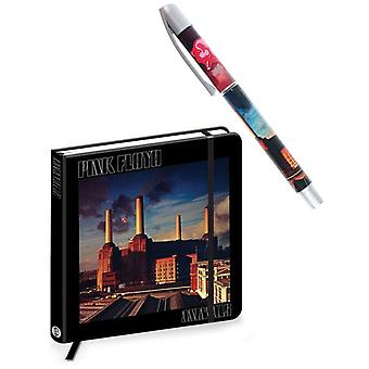 Pink Floyd Pen and Notebook Animals Band Logo new official Gift Set