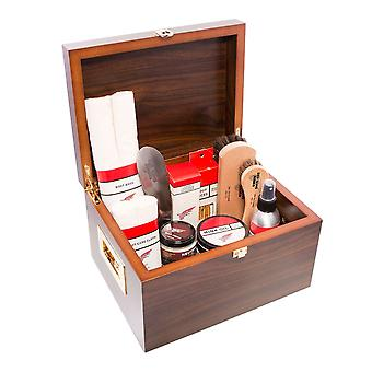 Luxus Valet Box mit Red Wing Shoe Care Produkten