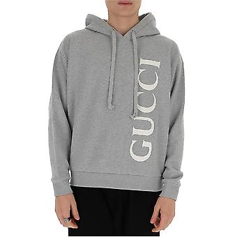 Gucci 604974xjb1d1039 Men's Grey Cotton Sweatshirt