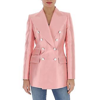 Dolce E Gabbana F29dptfu1b8f0660 Women's Pink Satin Blazer