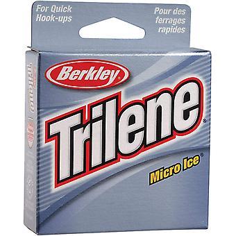 Berkley Trilene Micro Ice Fishing Line (110 yds) - Clear Steel