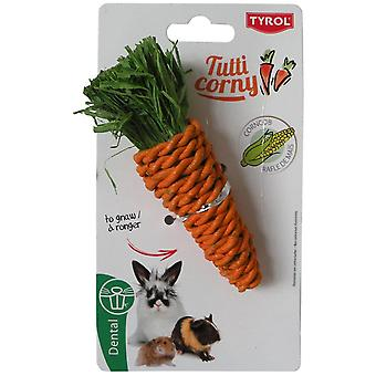 Tyrol Small Carrot To Gnaw Tutti Corny (Small pets , Toys)
