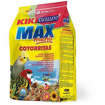 Kiki Max -valikko papukaiille (Linnut, Lintujen ruoka)