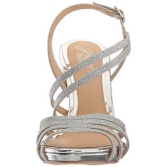 BADGLEY MISCHKA naisten nöyrä avoin toe erityinen tilaisuus nilkka hihna sandaalit