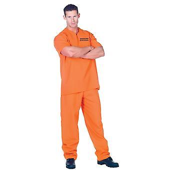 Väzeň kostým dospelých