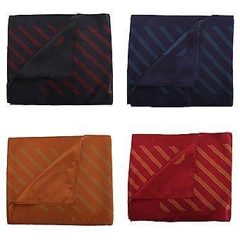 Premier Scarf – Ladies/Womens Four Stripe Business Scarf