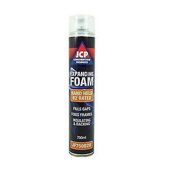 JCP B2 Fire Rated Hand Expanding PU Foam Cleaner