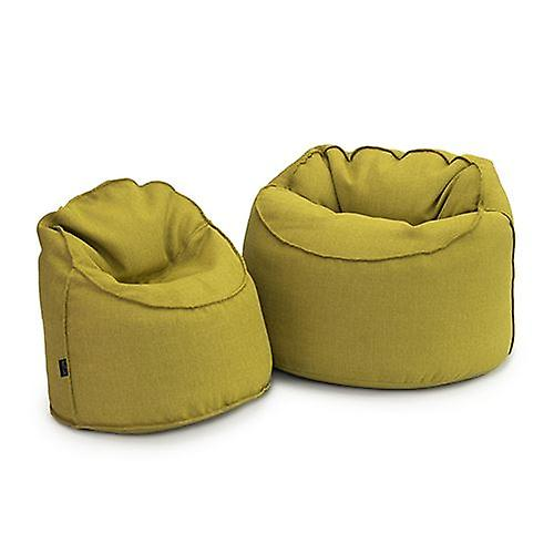 Loft 25 Petit et apos;Lucas-apos; Lime Bean Bag Tub Chaise Lounger