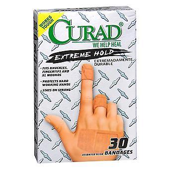 Curad adhesive bandages, extreme hold, 20 ea