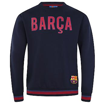FC Barcelona Mens Sweatshirt Graphic Top OFFICIAL Football Gift